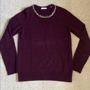 Women's Equipment sweater.